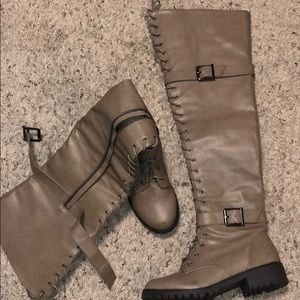 Over the knee boots brand new